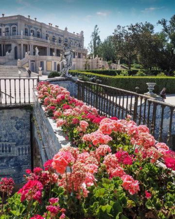 The Beauty of Queluz by Cheryl Ribeiro