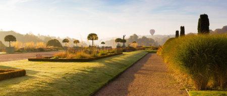 Hot Air Balloon over Trentham Gardens by Joe Wainwright