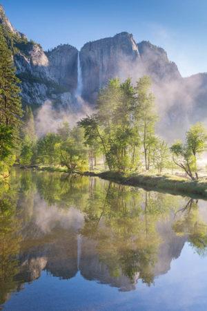 Yosemite Falls by Adam Burton