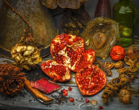 Pomegranate by Simon Schollum