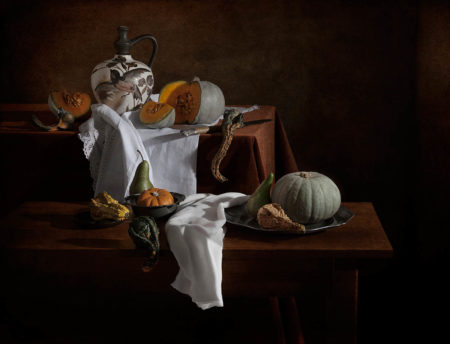 In Glory of Pumpkins and Gourds by Polina Plotnikova