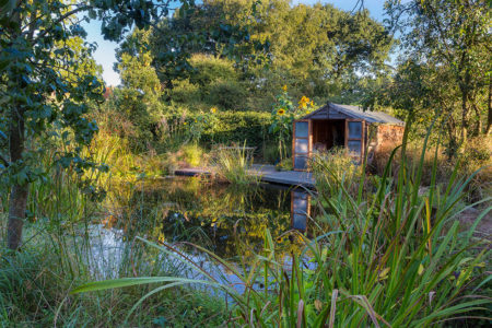 Sunrise at the Summerhouse by Annie Green-Armytage