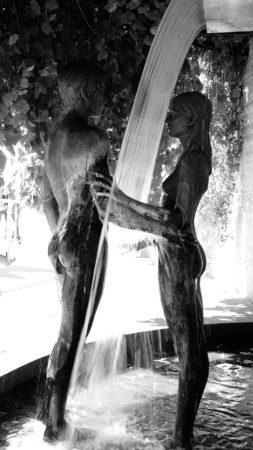 Lovers' Waterfall by Leonida Boschello