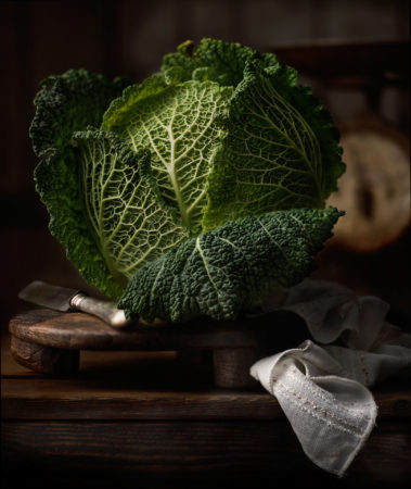 Savoy Cabbage by Flavio Catalano