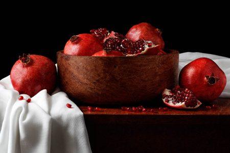 Pomegranates by Polina Plotnikova