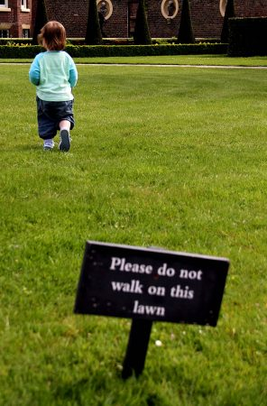 Keep off the Grass by Jackie Freshfield