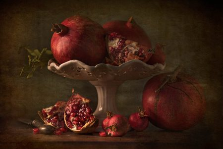 Pomegranates by Flavio Catalano