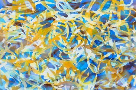 Sunflower Swirls by Jane Simmonds