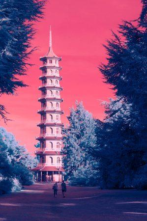Kew Pagoda by Valentin Manaila
