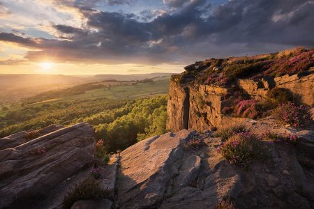 Millstone Sunset by Francis Taylor