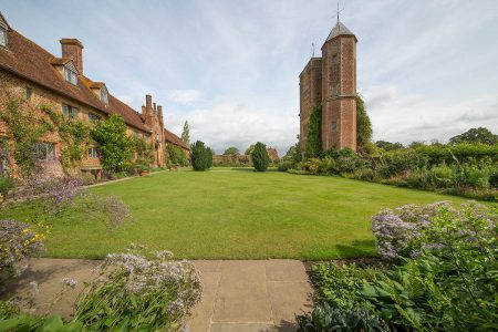 Imposing Castle Tower at Sissinghurst by John Hunt