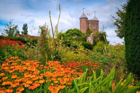 View from the Cottage Garden towards the Tower by Kate Reason