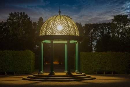 Pavilion at Night by Peter Windeck