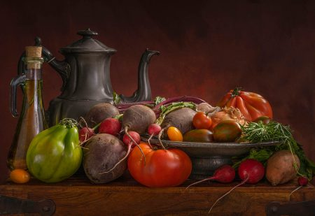 Garden Vegetables by Angi Wallace