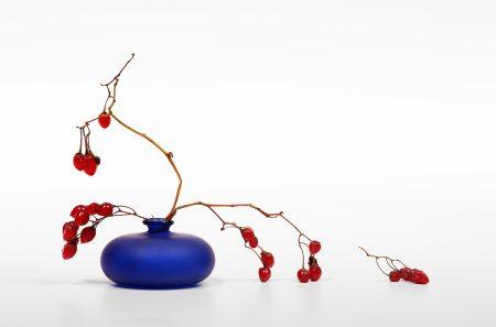 Still Life with Blue Vase by Victor Kanunnikov