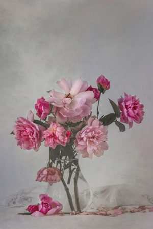 Roses & Linen by Sue Oakford