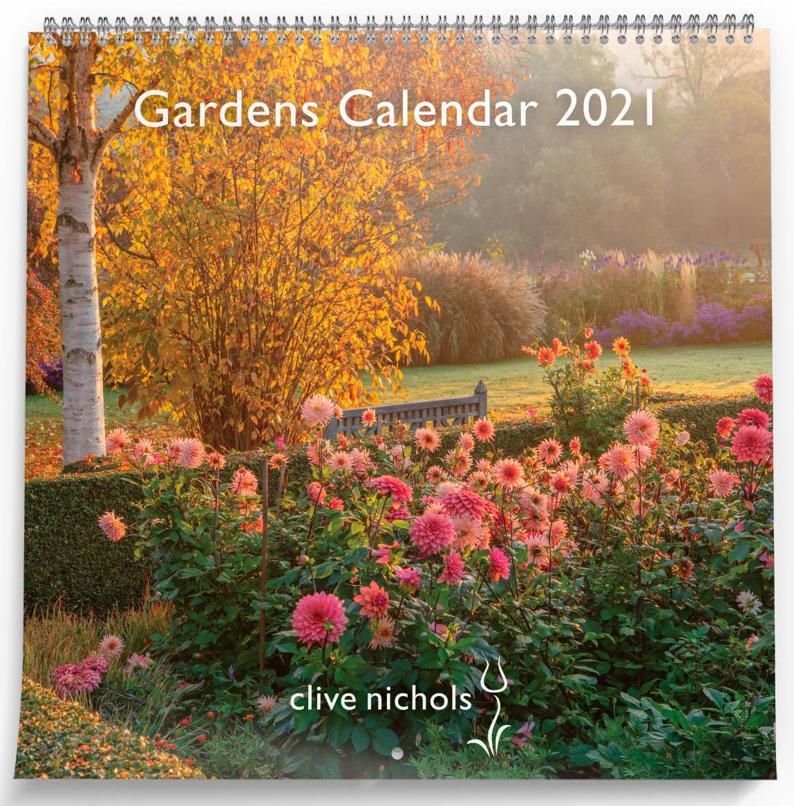 Clive Nichols Gardens Calendar 2021