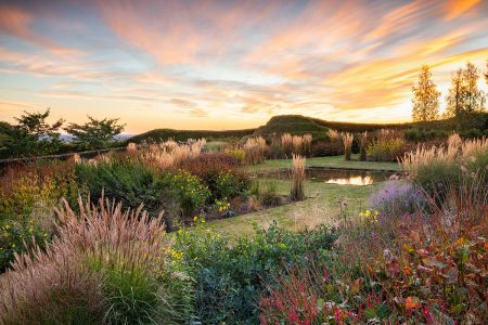 Autumn Sunset at Redhill Lodge by Richard Bloom