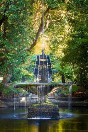 Neptune Cascade and Fountain by Joe Wainwright