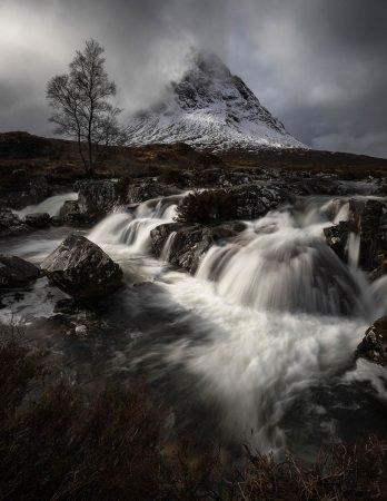 Moody Falls by Jay Birmingham