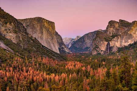 False Fall at Tunnel View by Gigi Williams