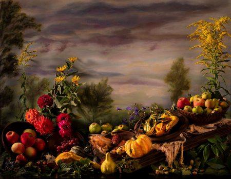 The Market Stall by Cristina Wanjura