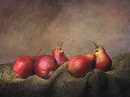 Five Pears by Sergio Villaschi