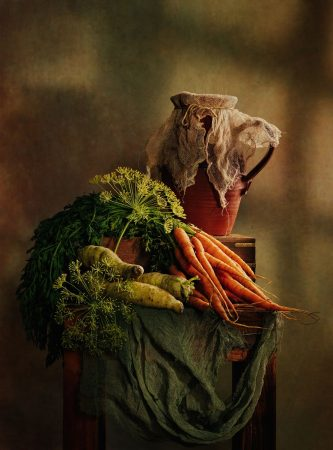 Root Vegetables II by Angi Wallace