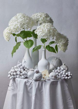 White Still Life by Alena Kutnikova
